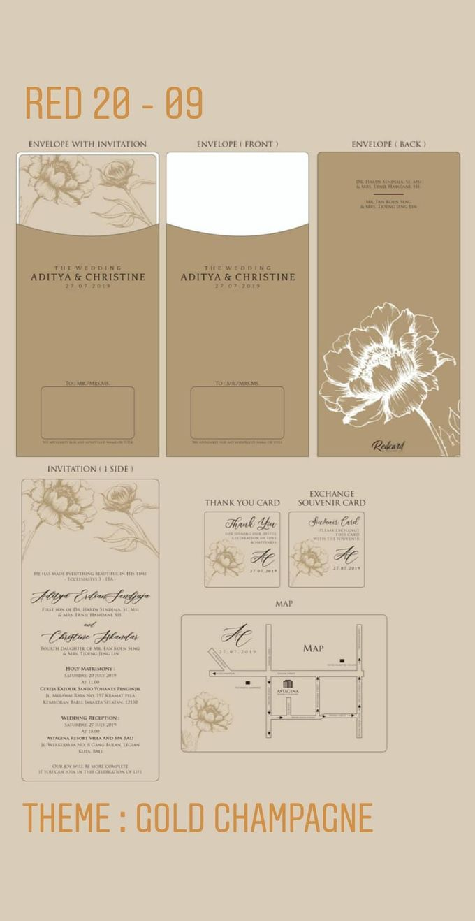 Template Design Softcover I by Red Card - 004