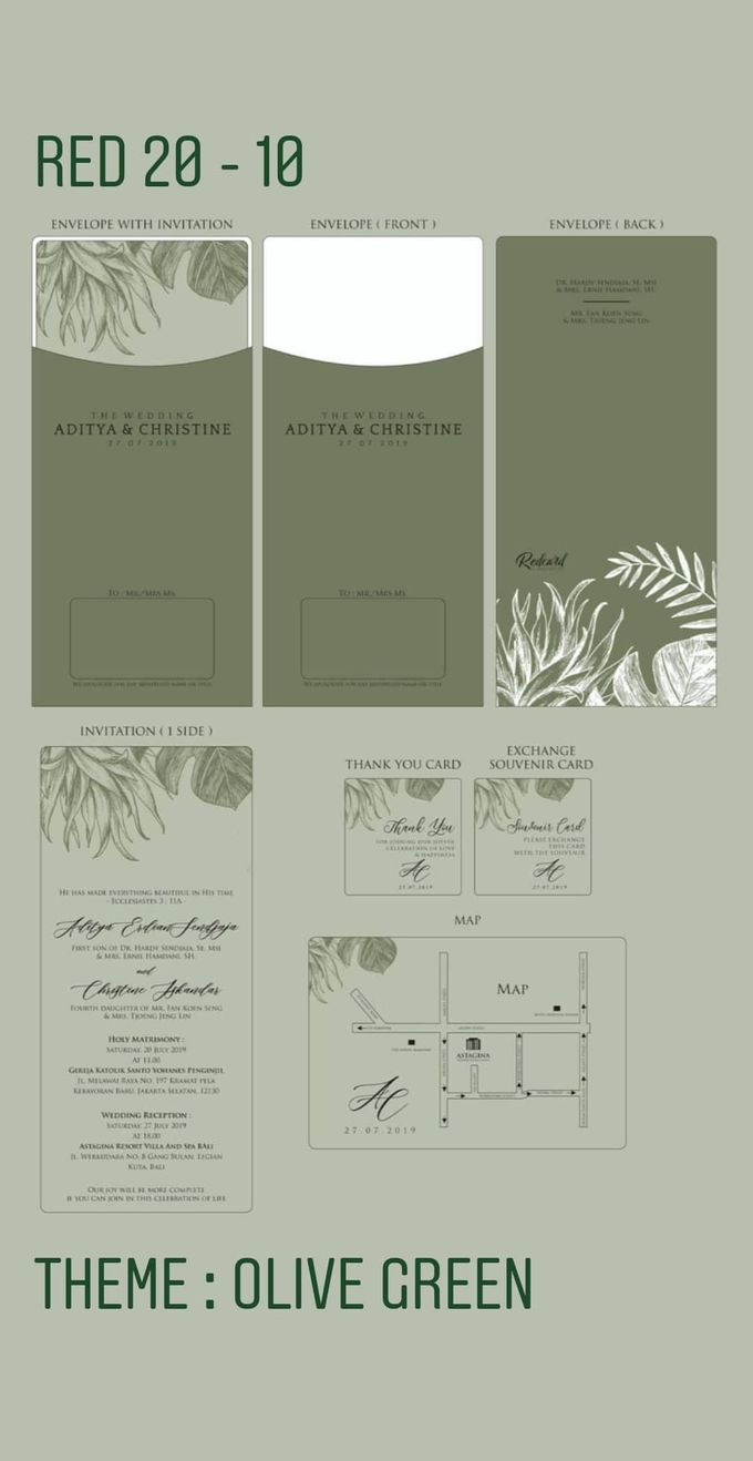 Template Design Softcover I by Red Card - 003