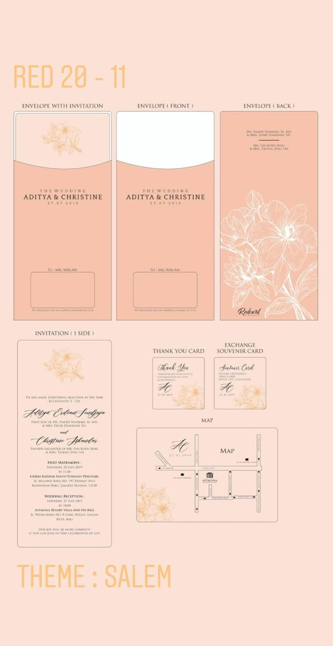Template Design Softcover I by Red Card - 001
