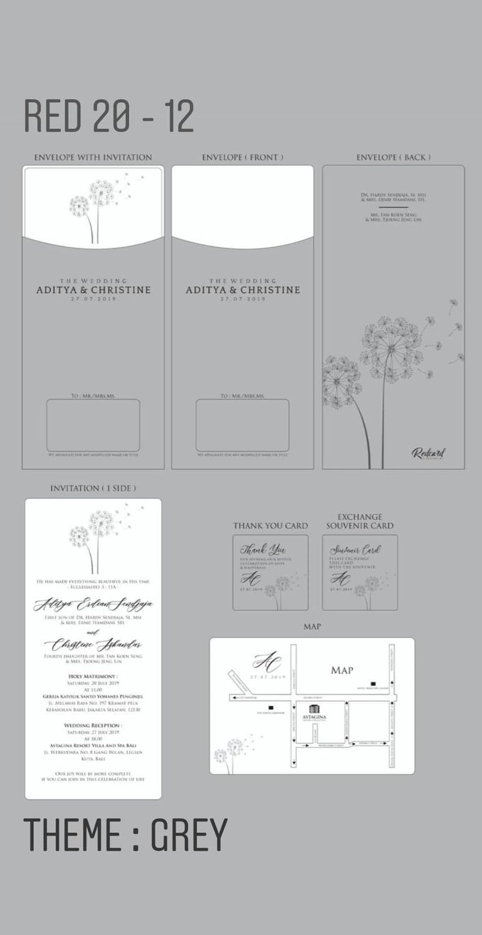 Template Design Softcover I by Red Card - 002