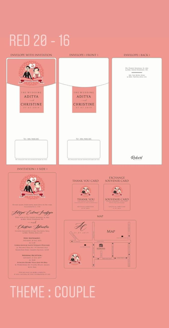 Template Design Softcover II by Red Card - 001