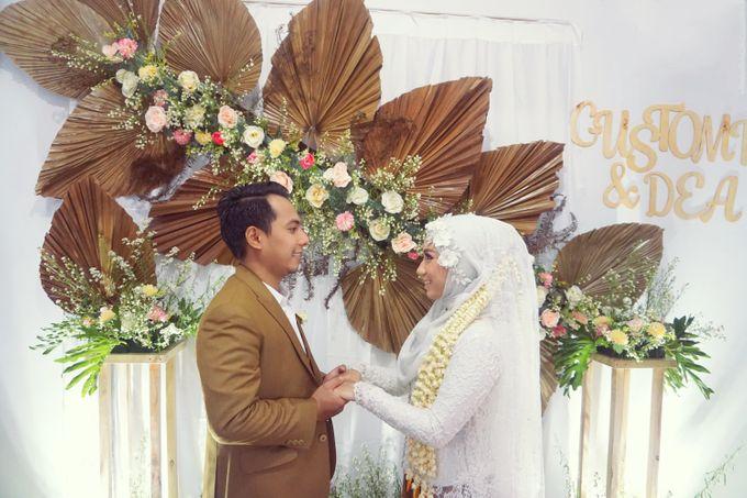 Wedding of Gustomi & dea by Kyukyu organzier - 003