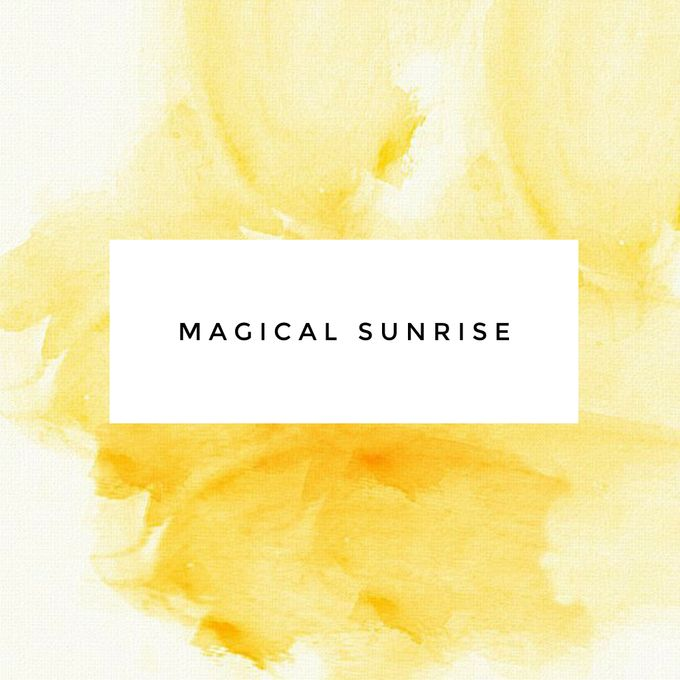 """MAGICAL SUNRISE"" by FIORE & Co. Decoration - 001"