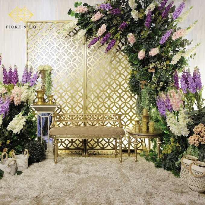 """ENGLISH GARDEN"" by FIORE & Co. Decoration - 007"