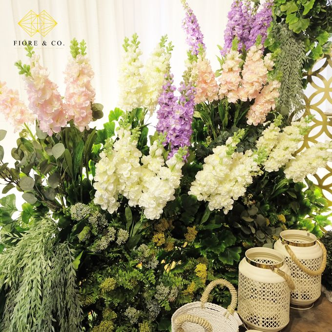 """ENGLISH GARDEN"" by FIORE & Co. Decoration - 005"