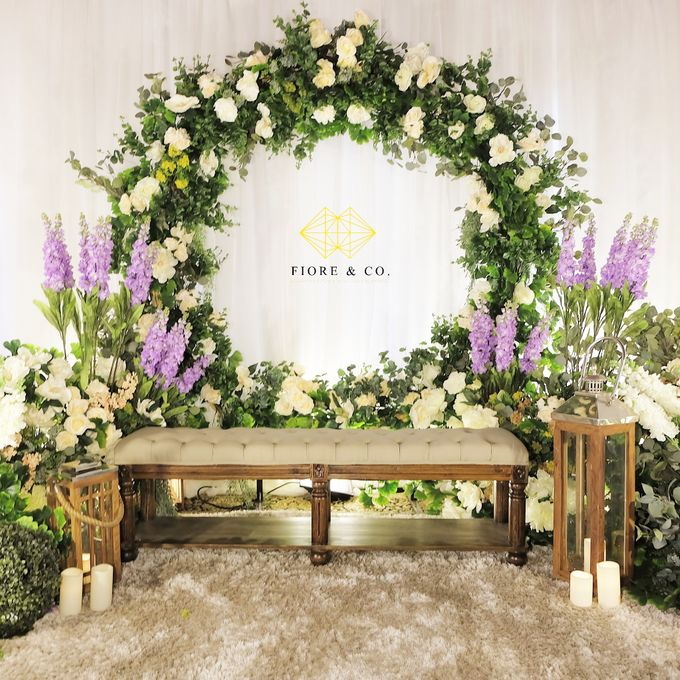 """ENGLISH GARDEN"" by FIORE & Co. Decoration - 006"