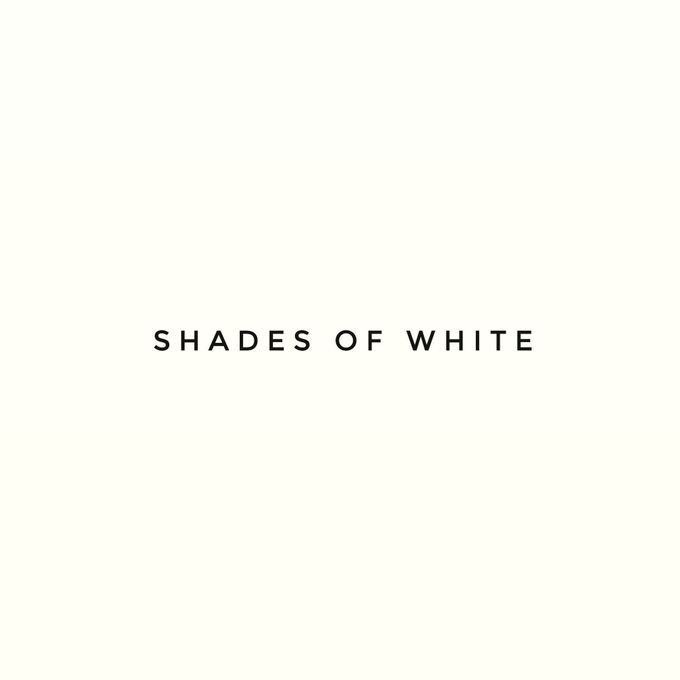 """SHADES OF WHITE"" by FIORE & Co. Decoration - 001"