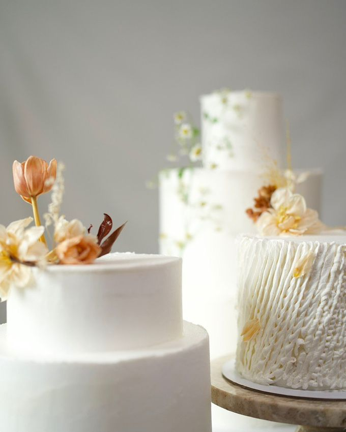 Terracota Romantic Wedding by Ame Cakery - 002