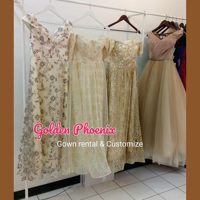 Sewa Gaun Dress Mama Sister Prewedding by Golden Phoenix Rent Gown - 009