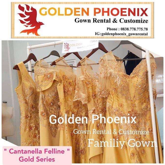 Sewa Gaun Dress Mama Sister Prewedding by Golden Phoenix Rent Gown - 002