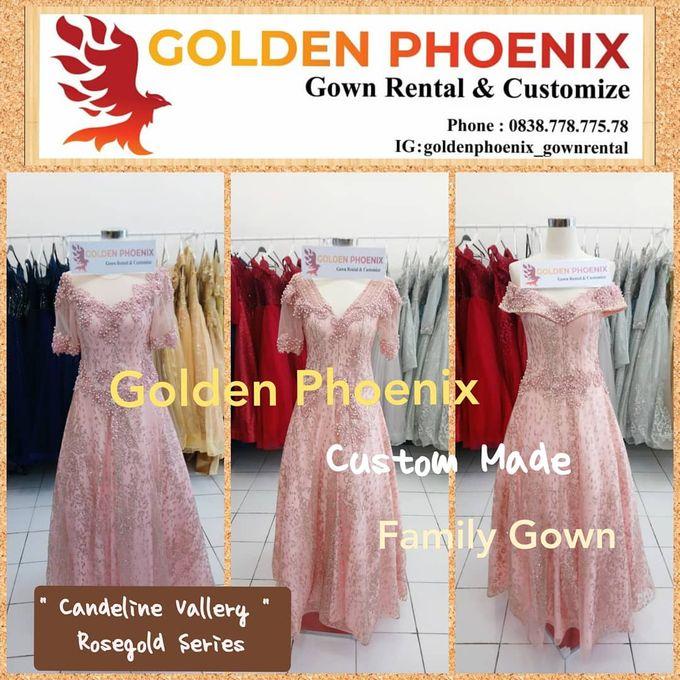 Sewa Gaun Dress Mama Sister Prewedding by Golden Phoenix Rent Gown - 005