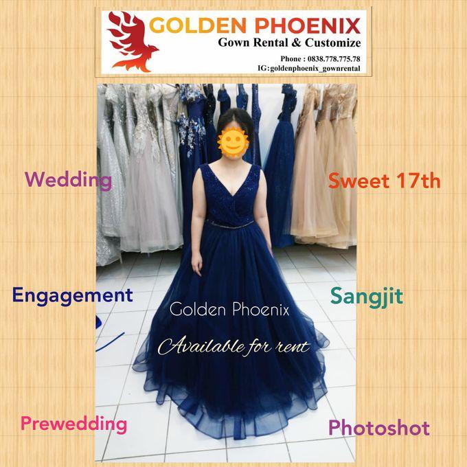 Sewa Gaun Dress Mama Sister Prewedding by Golden Phoenix Rent Gown - 014