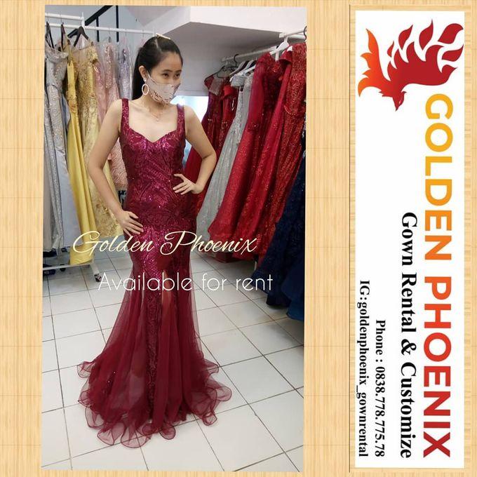 Sewa Gaun Dress Mama Sister Prewedding by Golden Phoenix Rent Gown - 004