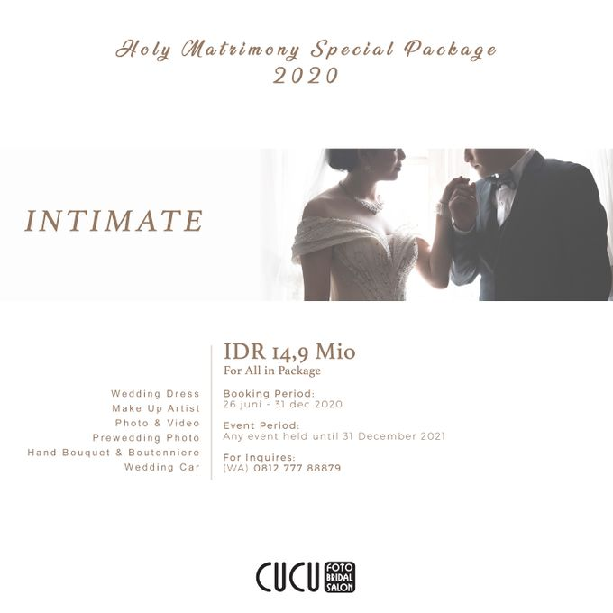 Holy Matrimony PACKAGE by CUCU FOTO BRIDAL - 003