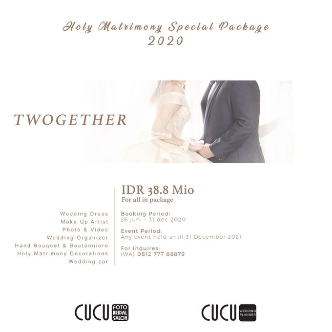 Holy Matrimony PACKAGE by CUCU FOTO BRIDAL - 001
