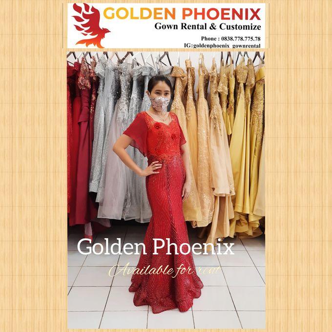 Sewa Gaun Dress Mama Sister Prewedding by Golden Phoenix Rent Gown - 013
