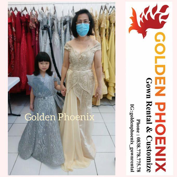 Sewa Gaun Dress Mama Sister Prewedding by Golden Phoenix Rent Gown - 006