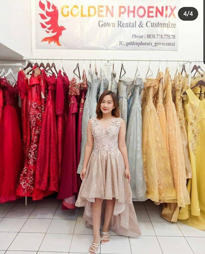 Today : OPEN ( 09.30 - 17.30) by Golden Phoenix Rent Gown - 001