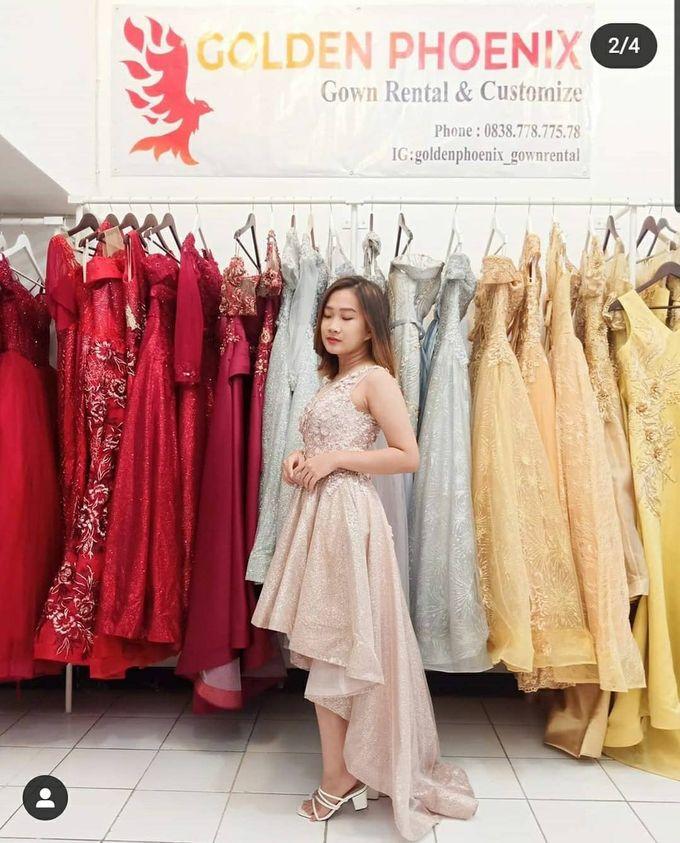 Sewa Gaun Dress Mama Sister Prewedding by Golden Phoenix Rent Gown - 010