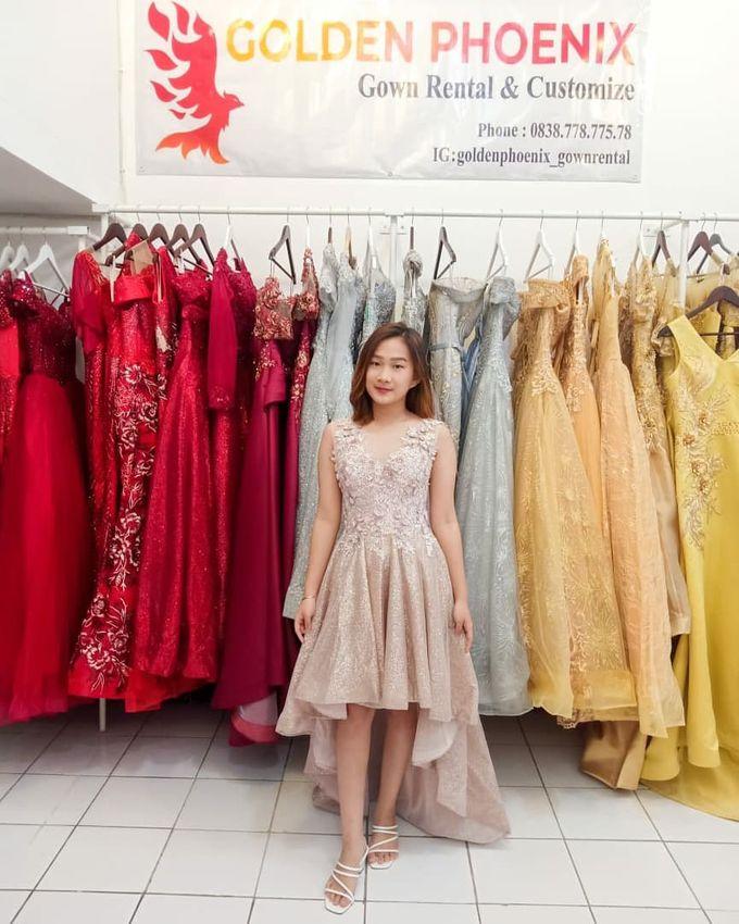 Sewa Gaun Dress Mama Sister Prewedding by Golden Phoenix Rent Gown - 007