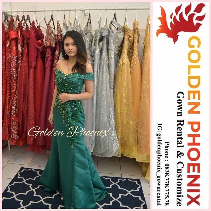 Sewa Gaun Dress Mama Sister Prewedding by Golden Phoenix Rent Gown - 001