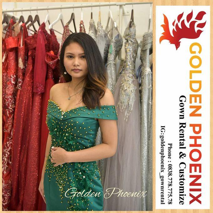 Sewa Gaun Dress Mama Sister Prewedding by Golden Phoenix Rent Gown - 008
