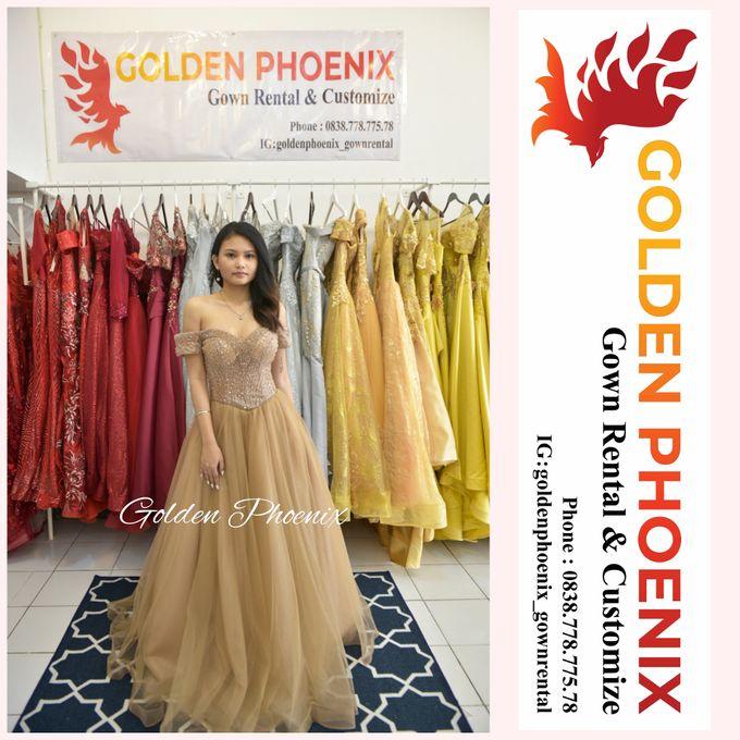Today : OPEN ( 09.30 - 17.30) by Golden Phoenix Rent Gown - 002