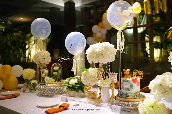 Gold Table Decor by Buttercup Decoration - 002