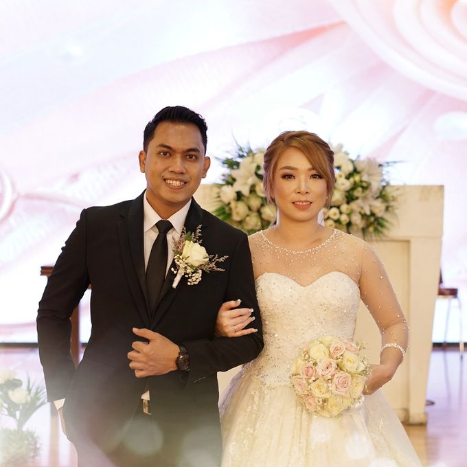 The Wedding of Lendy & Lisan by MarisaFe Bridal - 002