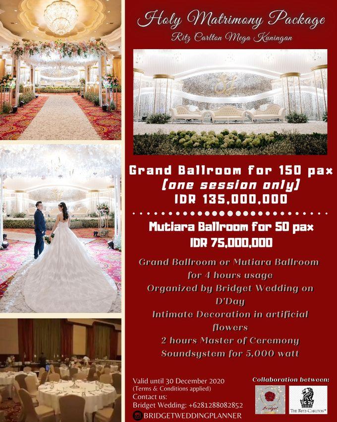 Holy Matrimony Or Akad Nikah Package by Bridget Wedding Planner - 001