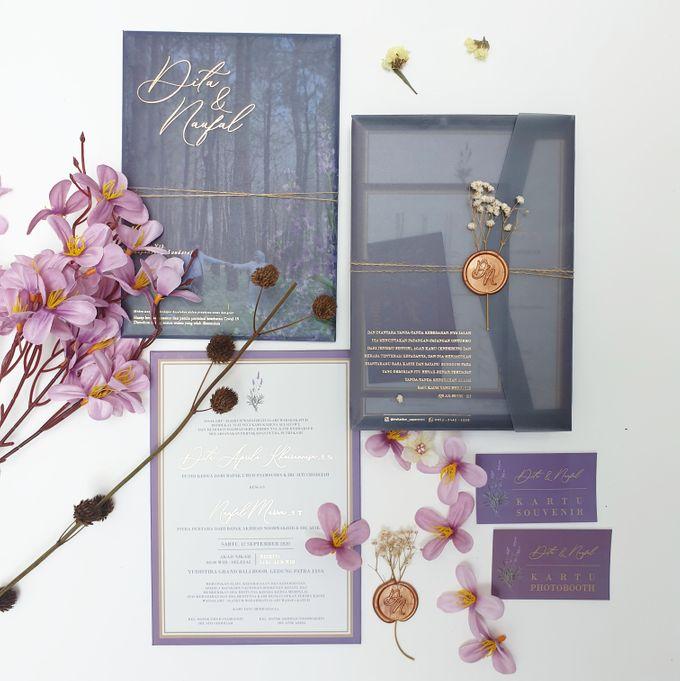 Lovie Purple Rustic by Invitation Papermint - 003