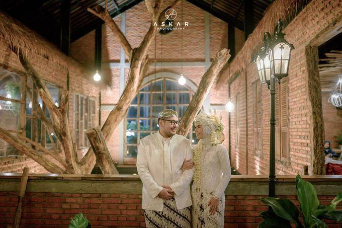 The Intimate Wedding Of Tia & Ranggi by Armadani Organizer - 013