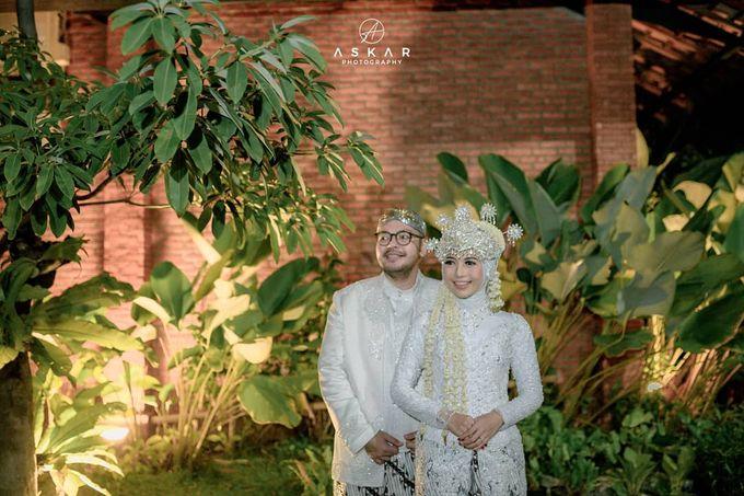 The Intimate Wedding Of Tia & Ranggi by Armadani Organizer - 020