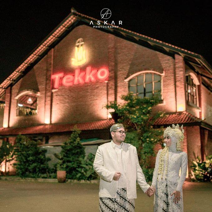 The Intimate Wedding Of Tia & Ranggi by Armadani Organizer - 016