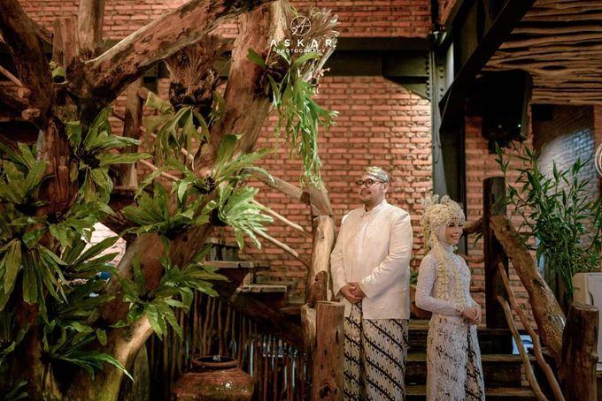 The Intimate Wedding Of Tia & Ranggi by Armadani Organizer - 009