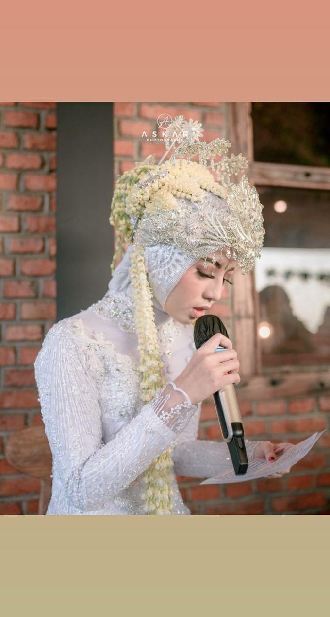 The Intimate Wedding Of Tia & Ranggi by Armadani Organizer - 014