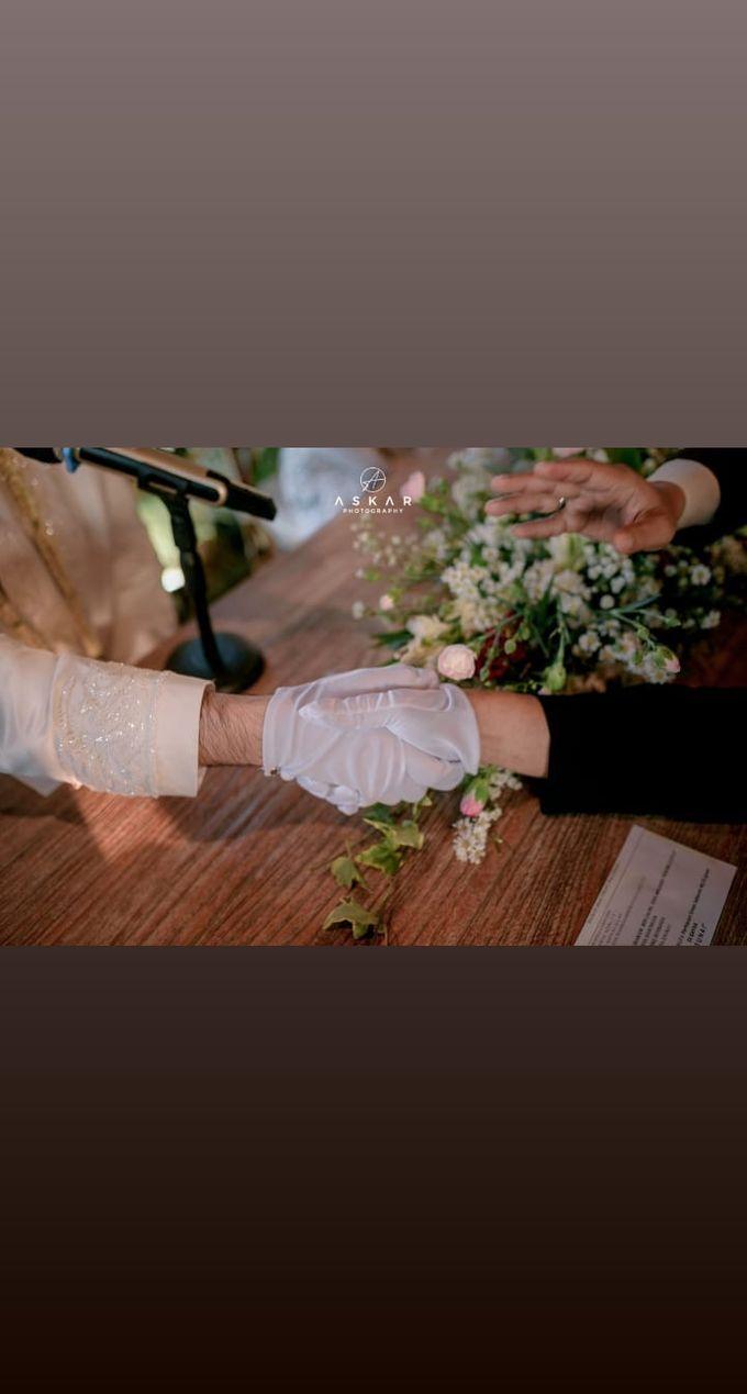 The Intimate Wedding Of Tia & Ranggi by Armadani Organizer - 005