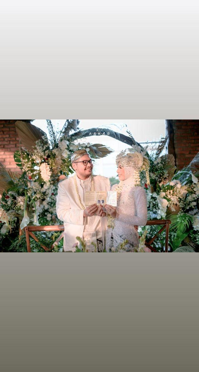The Intimate Wedding Of Tia & Ranggi by Armadani Organizer - 006