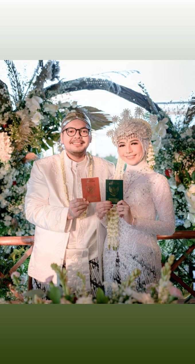 The Intimate Wedding Of Tia & Ranggi by Armadani Organizer - 002