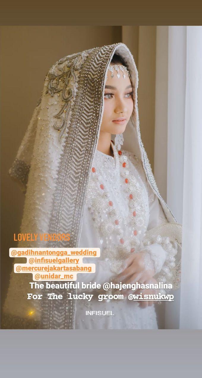 The Intimate Wedding Of Wisnu & Hajeng by Armadani Organizer - 014