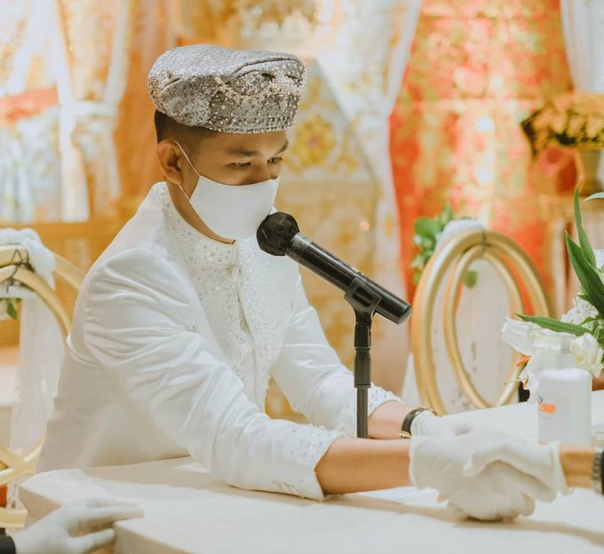 The Intimate Wedding Of Wisnu & Hajeng by Armadani Organizer - 009