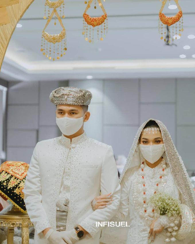 The Intimate Wedding Of Wisnu & Hajeng by Armadani Organizer - 005
