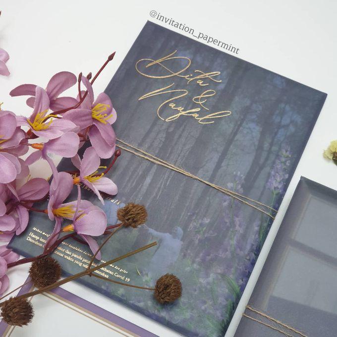 Lovie Purple Rustic by Invitation Papermint - 002