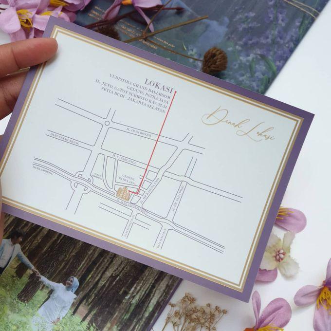Lovie Purple Rustic by Invitation Papermint - 006