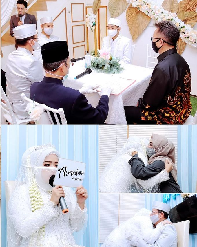 The Intimate Wedding Of April & Daru by Armadani Organizer - 006