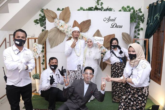 The Intimate Wedding Of April & Daru by Armadani Organizer - 003