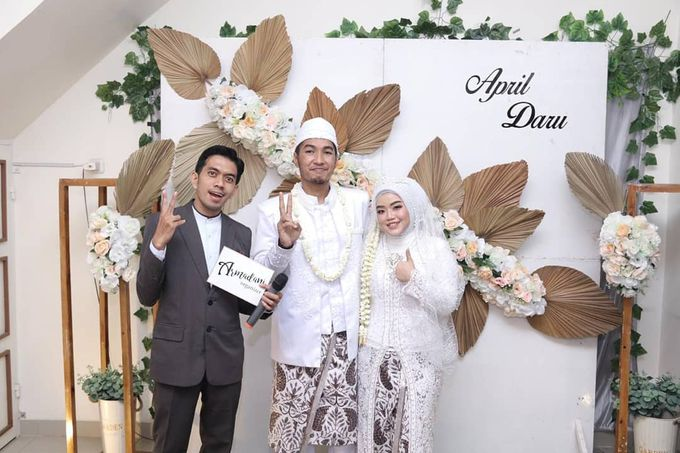 The Intimate Wedding Of April & Daru by Armadani Organizer - 005