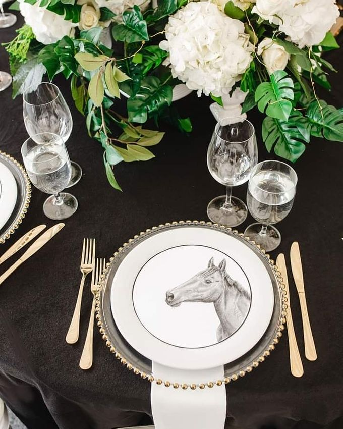 Black & White Horse Racing Grand Prix by 7 Sky Event Agency - 004