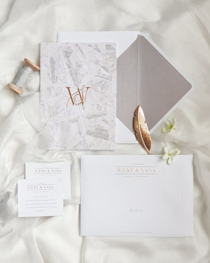 Beauty in simplicity by Invitation Papermint - 001