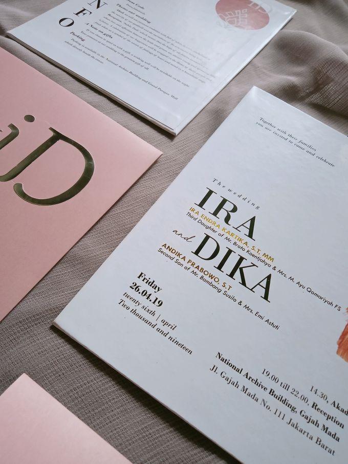 Ira & Dika by Bellva Invitation - 007